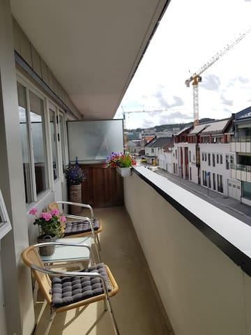 Midt i Kvadraturen i Kristiansand