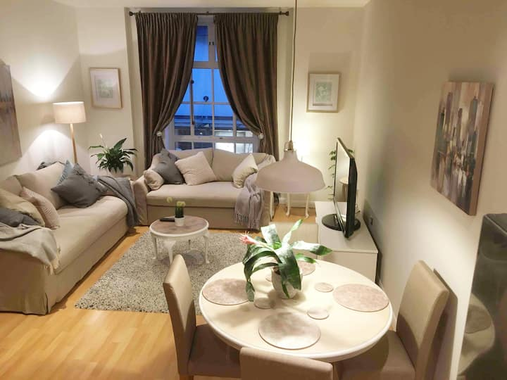 Luxury apartment in city centre with parking incl.