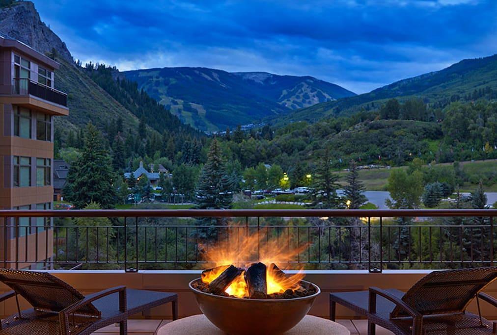 Beautiful views of Beaver Creek Mountain