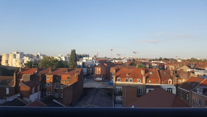 Lille: appartement avec vue