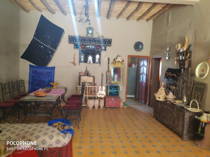 Merzouga traditional house