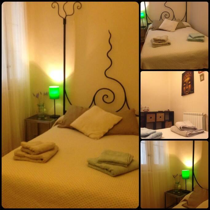 Dormitorio 1 , amplio y relajante.