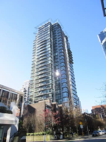 Entire 1bedroom+parkingDT Vancouver - Vancouver
