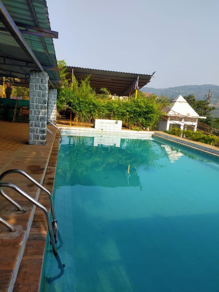 Single AC Cottage With Swimming Pool Lonavala
