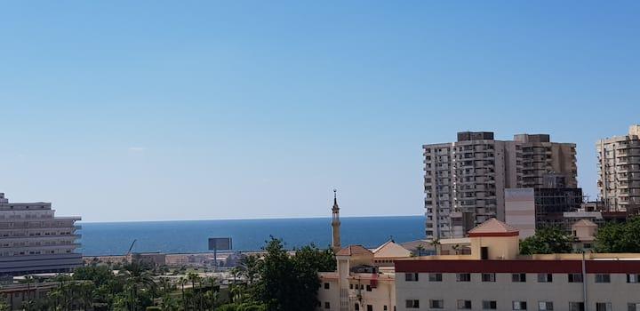 Une pièce de Paradis au Coeur d'Alexandrie