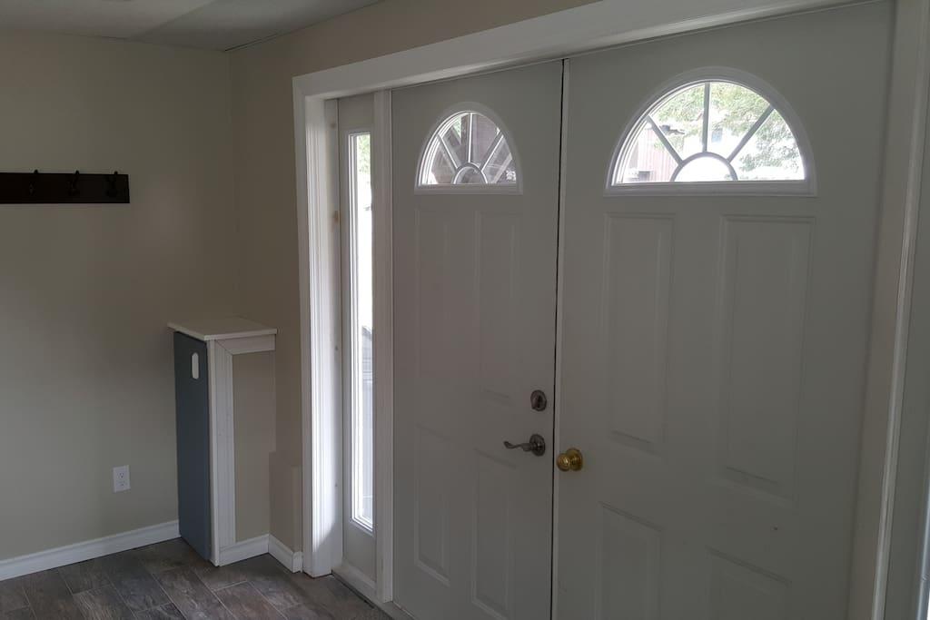 Double Door Private Entrance