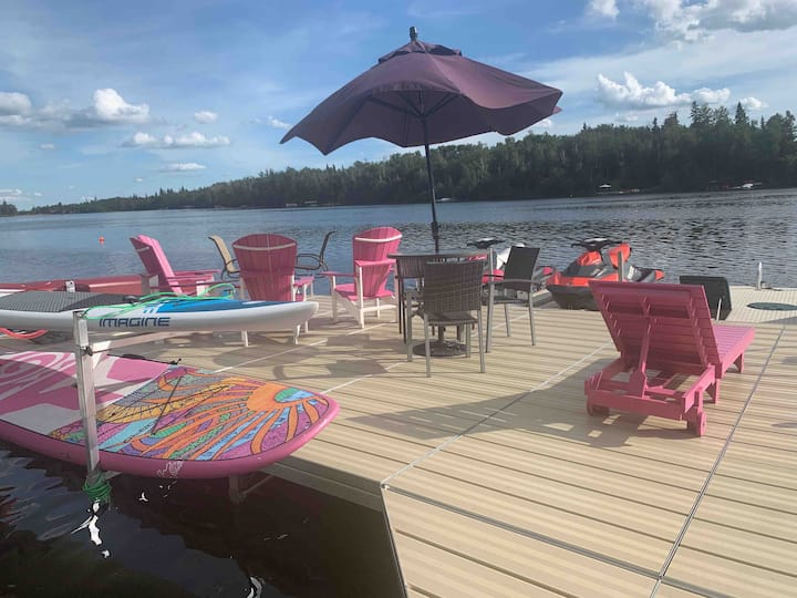 Lakefront Retreat - Sherwood Lower Suite