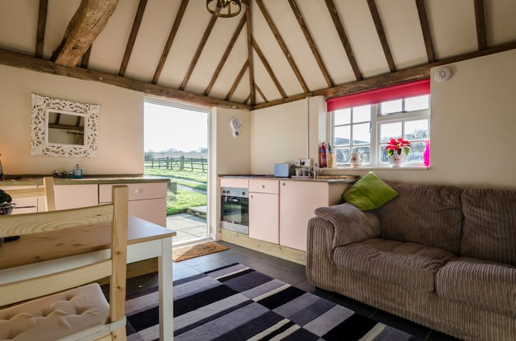 Converted stable block open countryside