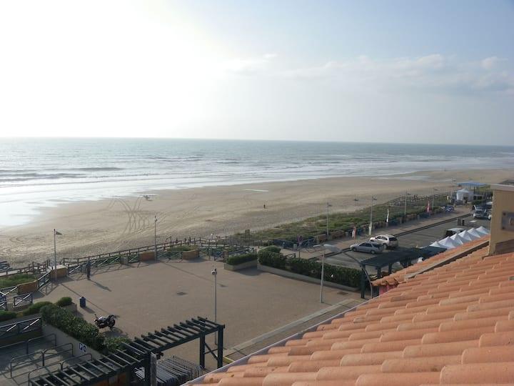 Bel appartement face à l'océan pour 2/4 pers