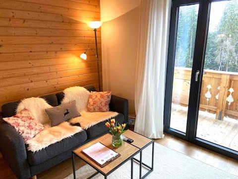 Gemütliche Landhaus-Wohnung für 2 Nähe Schwarzsee