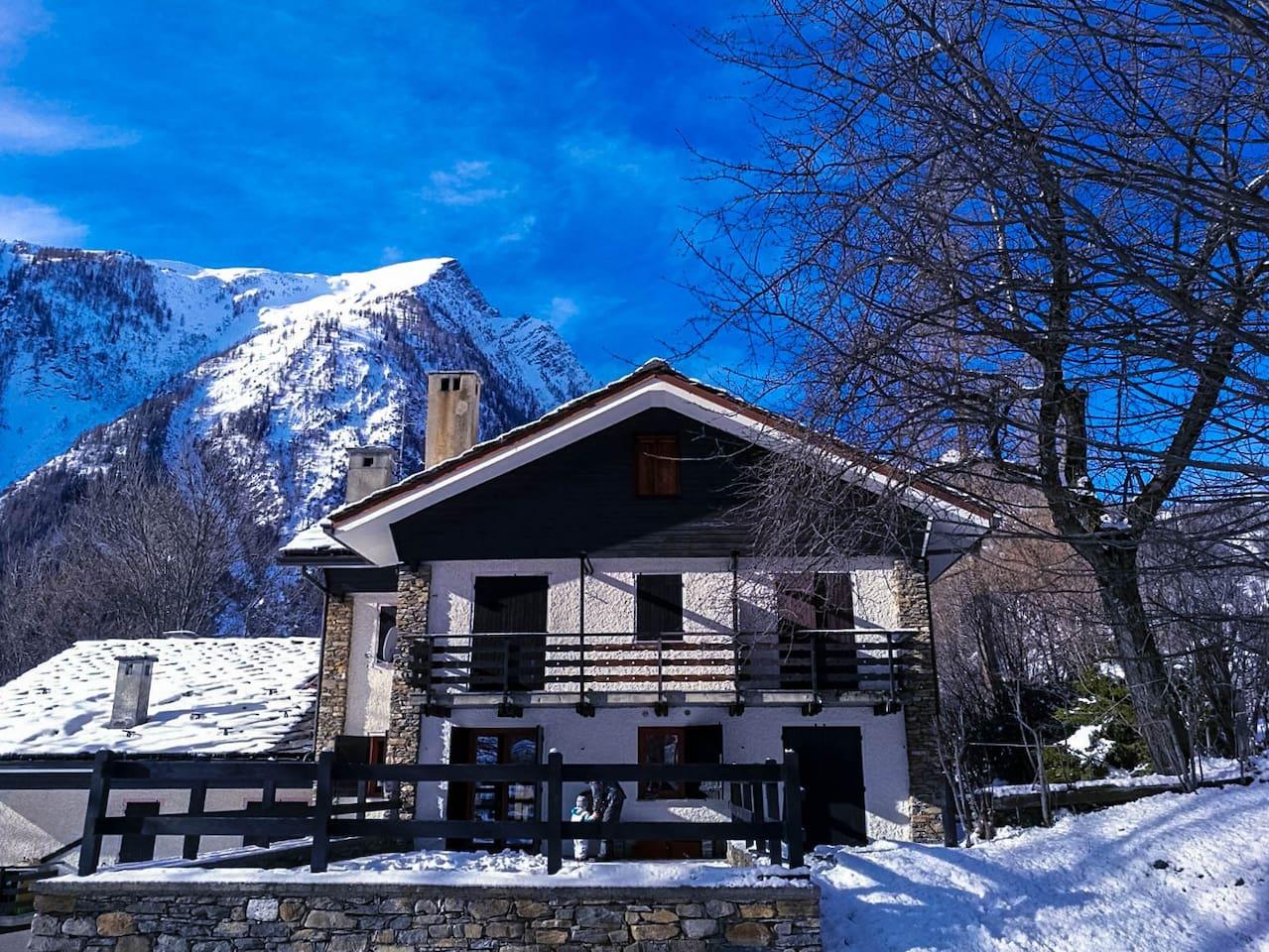L'alloggio Mont Cormet, ad un passo dalle montagne