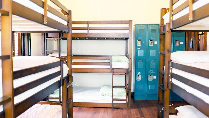 1 Bed in a 9 Bed Dorm at Fun International Hostel