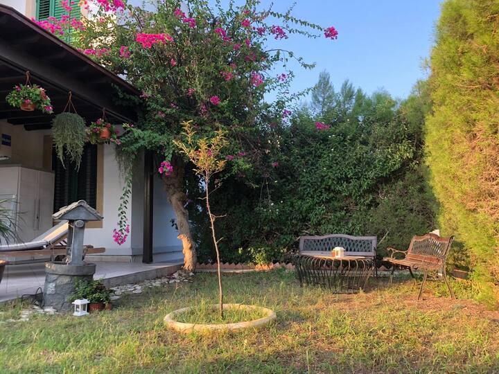 Feng-shui garden near the sea