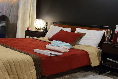 Warm & Cozy Studio 5mins from the Airport!