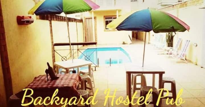Backyard Hostel Pub