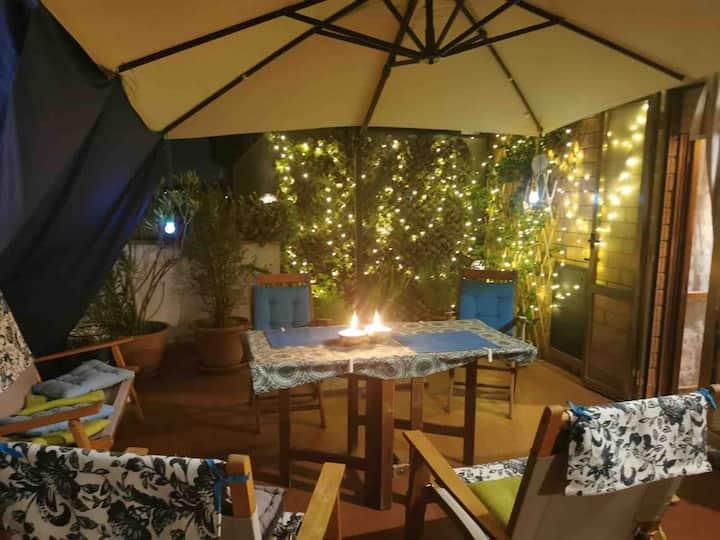 Amazing flat with wonderful terrace!