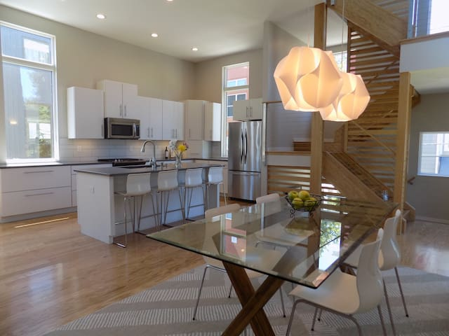 3bd+Den - New Modern Home in Heart of Tremont - Cleveland - Huis