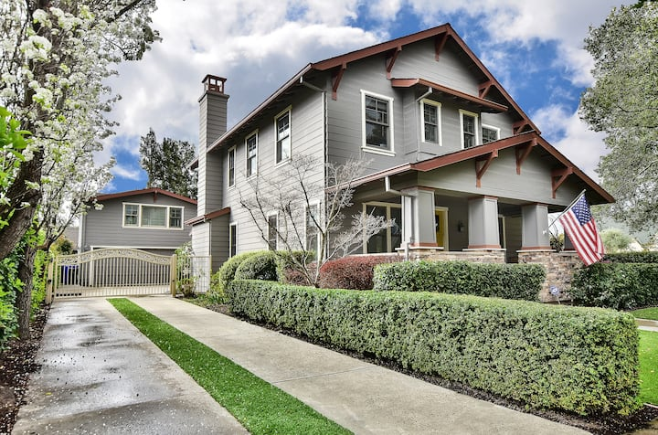 New Downtown Sonoma Property with Hot Tub