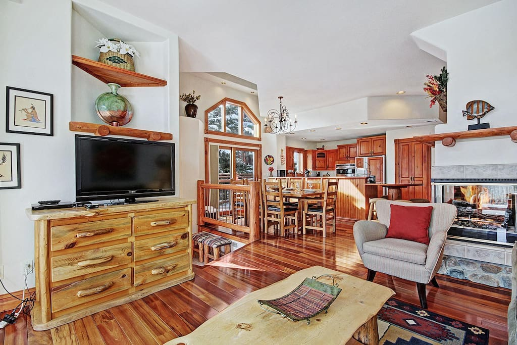 Open concept living at its best