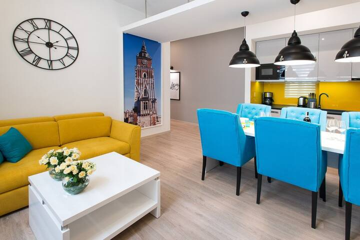 Beautiful Krakow Jewish District apartment for 7 - Cracovia - Appartamento