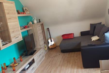 Schlafmöglichkeit in ruhiger Wohngegend - Niederwerrn - Apartment