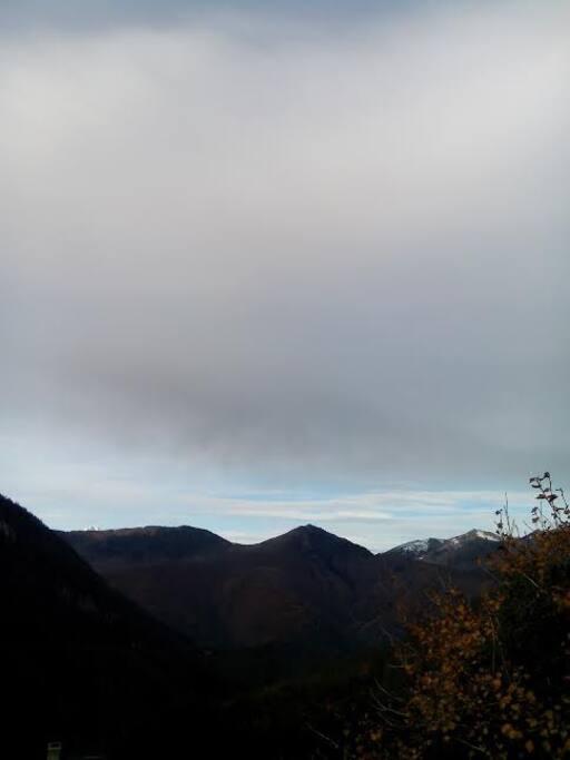 Le Col d'Aspin vu du balcon
