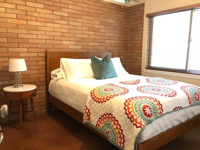 Cozy 2nd bedroom with brand new queen bed