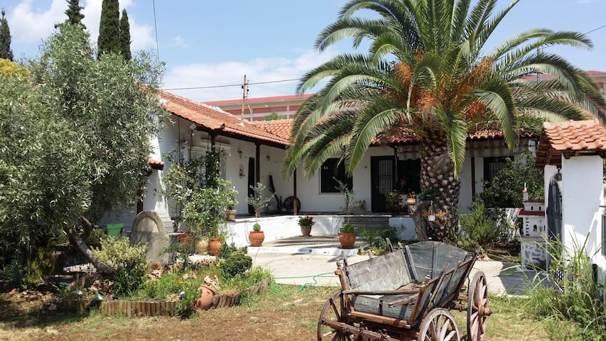 Traditional house with garden - Nea Peramos - Casa