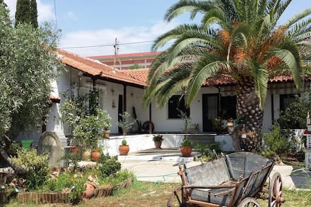 Traditional house with garden - Nea Peramos - Σπίτι