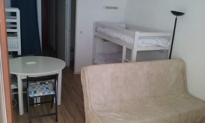 Appartement pied des pistes, La Mongie