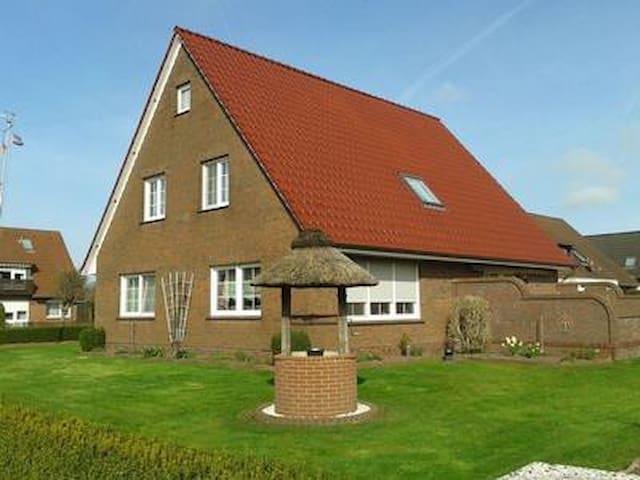 Ferienwohnung Hanni in Hage (Ostfriesland) direkt am Kiessee und Kurpark - Nordseenah