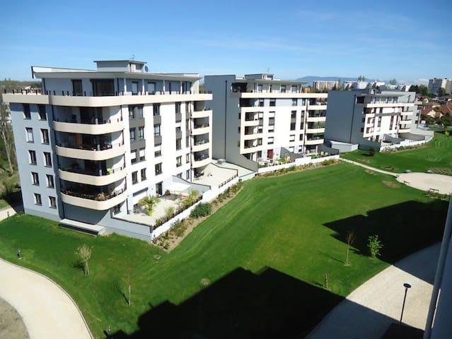 Logement Tout équipé à deux pas de Genève - Saint-Genis-Pouilly - Apartamento