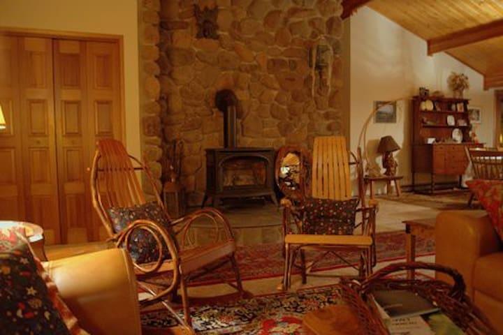 Streamside Cabin - Cresco - Vacation home