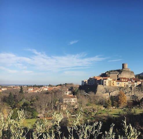 Maison au coeur du village à 10min de Collioure - Laroque-des-Albères - Casa