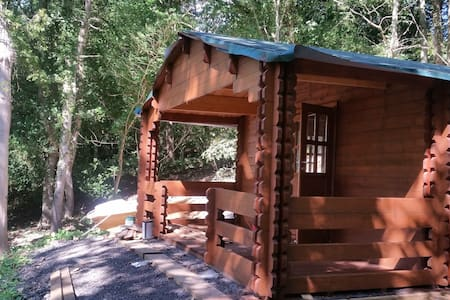 Log Cabin in private woodland, 2 miles from Whitby - Whitby