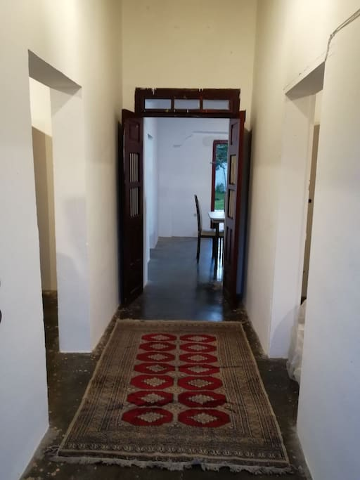 Pasillo de entrada (puerta principal)