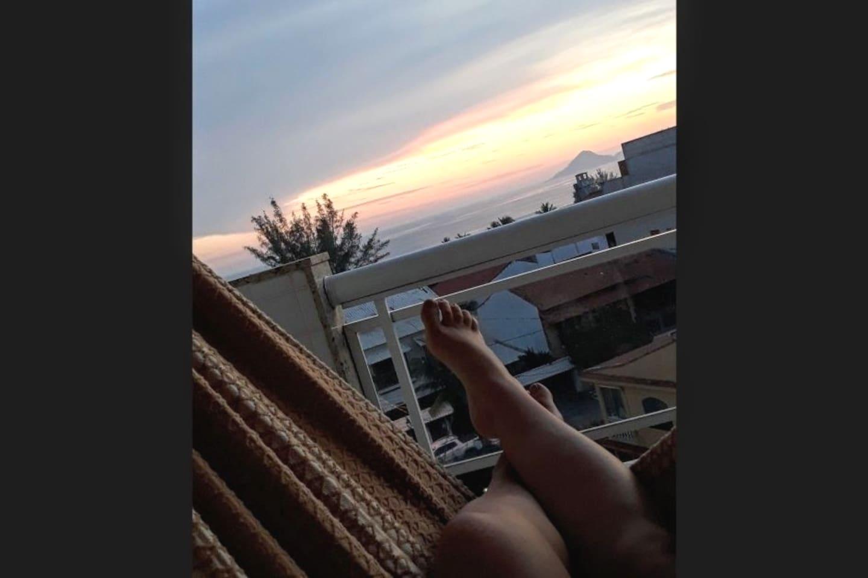 Relax com uma vista perfeita