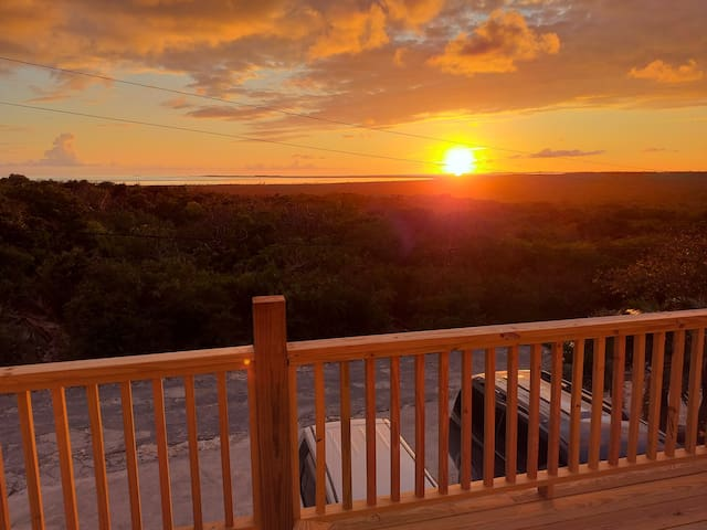 Happy Hour Sunsets from your balcony every evening!