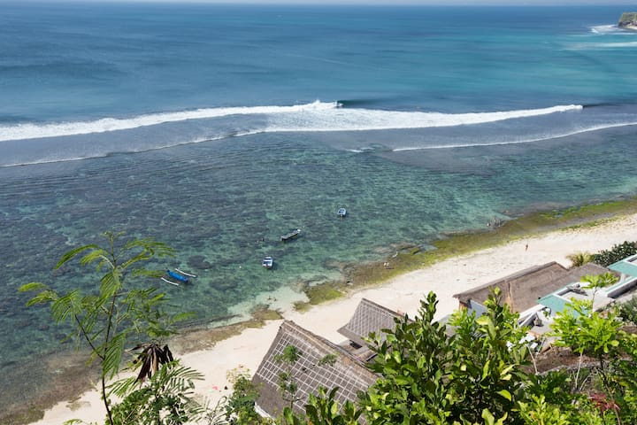 Cliff Top Bali Apartments over Sunny Beach