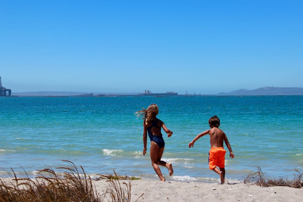 The beach in front of The Beach House has no riptides or strong currents and is the perfect swimming spot for kids. The water is also the warmest anywhere on the West Coast!!!