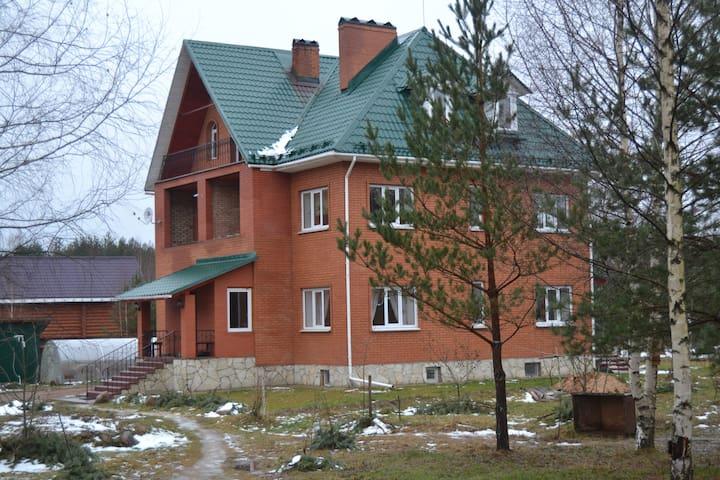 Гостевой дом Lesnaya Polyana - Krivsk - Rumah