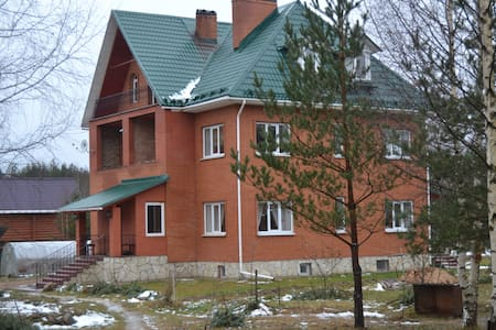 Гостевой дом Lesnaya Polyana - Krivsk - Casa