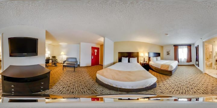 Relax-It's Quality Suites Airport-2 Queen Beds NS
