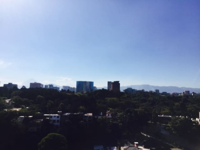 The best view in Guatemala City - Guatemala
