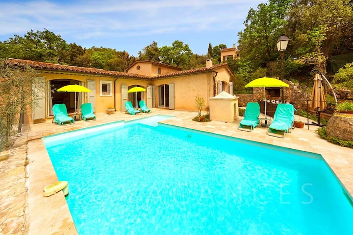 Maison provençale 10 pers.piscine, sauna, jacuzzi