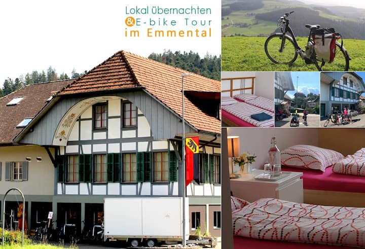 B&B in Emmental (Perfect for Ebike tour)