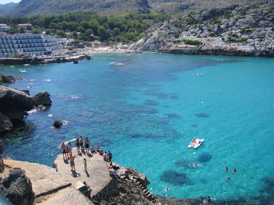 Aguas cristalinas del Norte de Mallorca