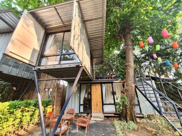 Serene Backyard Riverfront 1BR/Room No.2