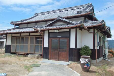 NO2(海の部屋) Along the oceans! Guesthouse Yadokari - Imabari - Дом