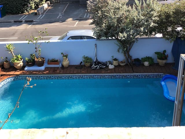 A private property in modiin with swimming pool